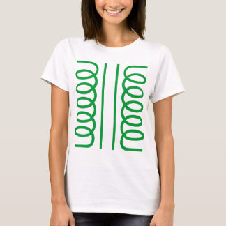Electrical Transformer Symbol T-Shirt
