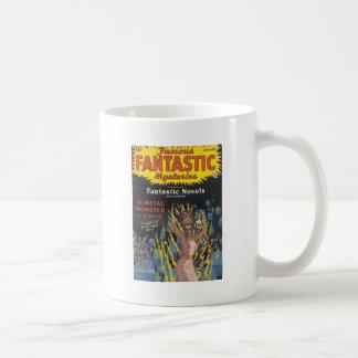 Electrical Woman dances with Skeletons Coffee Mug