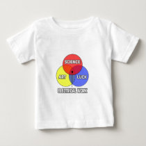 Electrical Work .. Science Art Luck T-shirts