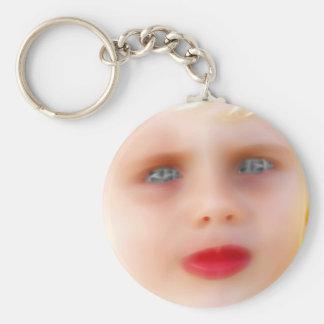 ElectricBoy Basic Round Button Keychain