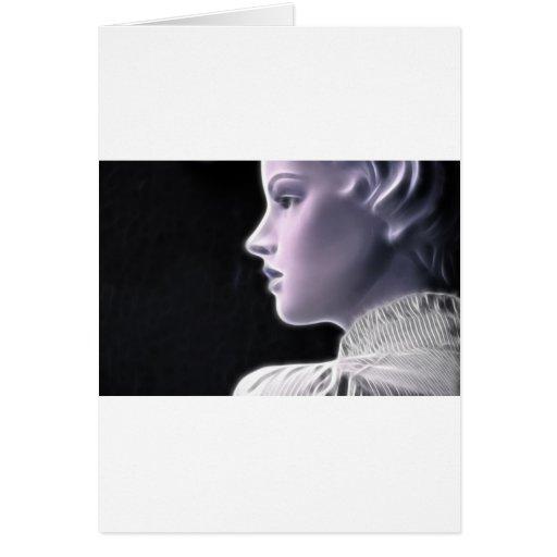 ElectricGirl 2 Greeting Card