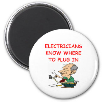 ELECTRICian 2 Inch Round Magnet