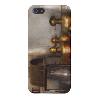 Electrician - A collection of oil lanterns .jpg iPhone 5 Case