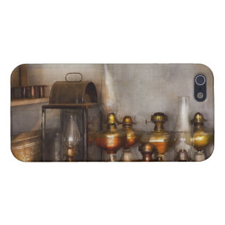 Electrician - A collection of oil lanterns .jpg iPhone 5 Cases