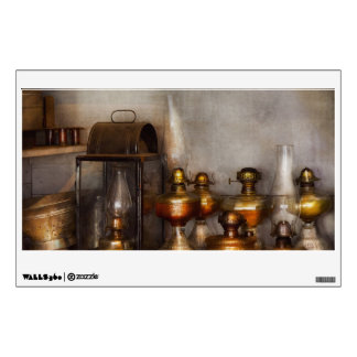 Electrician - A collection of oil lanterns Wall Sticker