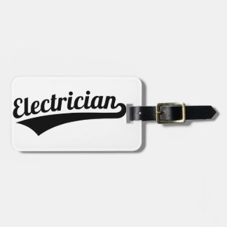 Electrician Bag Tag