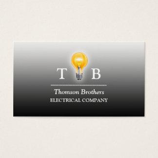 Electrician Bulb Business Card