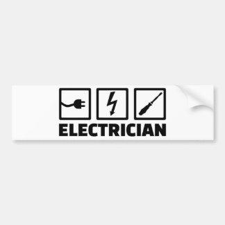 Electrician Bumper Sticker