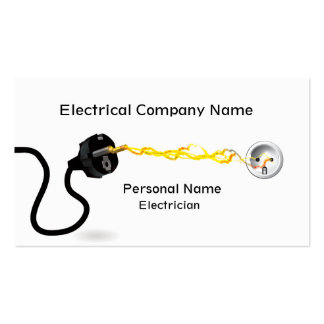 Electrician Business Business Card