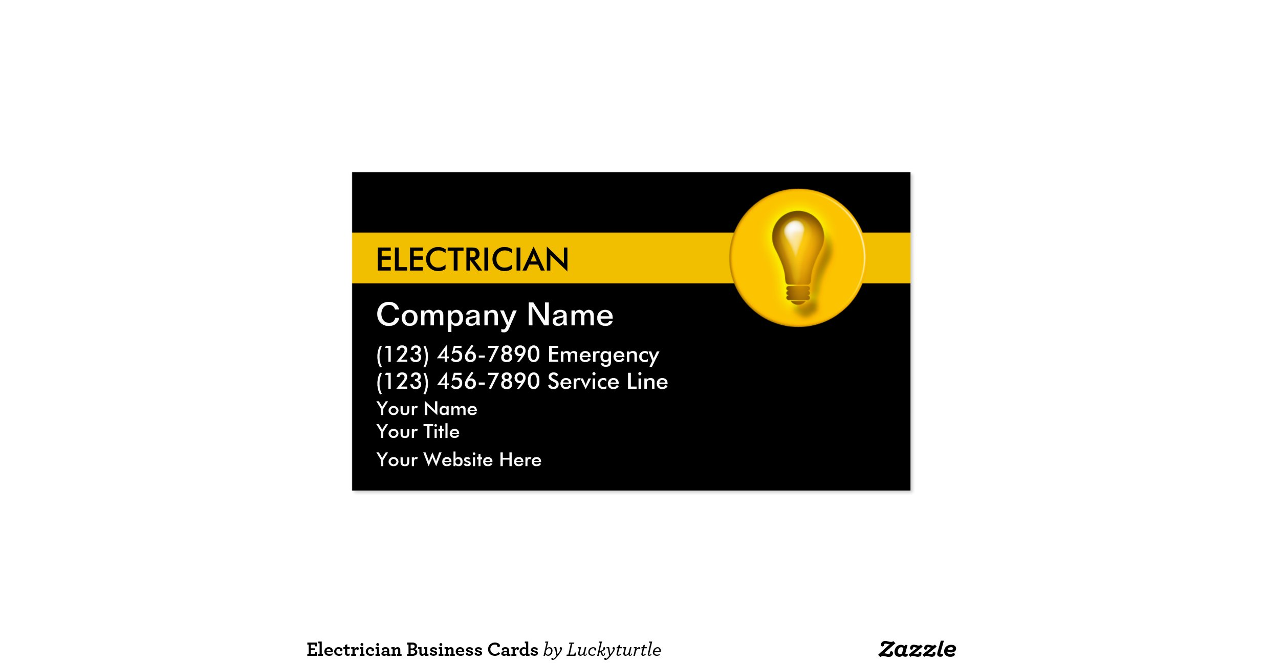 fresh stock of electrician business cards business cards design