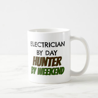 Electrician by Day Hunter by Weekend Coffee Mug