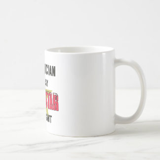 Electrician by Day rockstar by night Classic White Coffee Mug