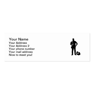 Electrician cables mini business card