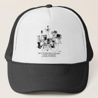 Electrician Cartoon 4427 Trucker Hat