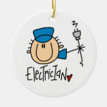 Electrician Christmas Tree Ornament