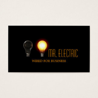 Electrician Company Business Card