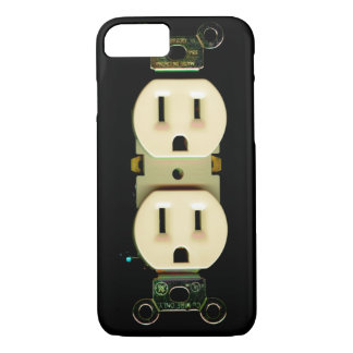 Electrician contractor electrical engineer power iPhone 8/7 case