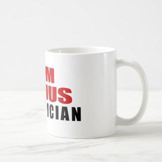 ELECTRICIAN DESIGNS CLASSIC WHITE COFFEE MUG