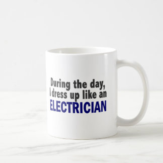 Electrician During The Day Coffee Mug