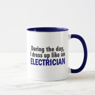Electrician During The Day Mug