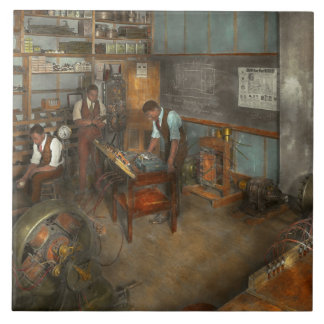 Electrician - Electrical Engineering course 1915 Ceramic Tile