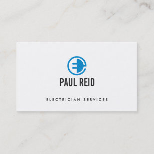 Electrical Company Business Cards Zazzle