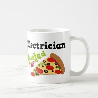 Electrician (Funny) Pizza Coffee Mug