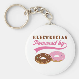 Electrician Gift (Donuts) Keychain
