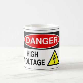 Electrician High Voltage Mug