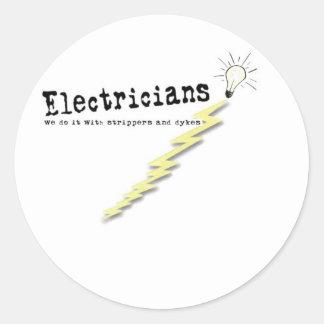 Electrician Humor Sticker