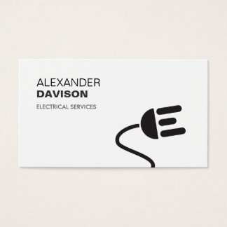 Electrician Business Cards & Templates | Zazzle