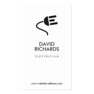 ELECTRICIAN LOGO MODERN BUSINESS CARD IV