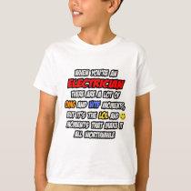Electrician .. OMG WTF LOL T-Shirt