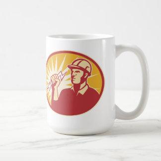 Electrician Power Line Worker Lightning Bolt Coffee Mug