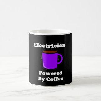 """""""Electrician"""" Powered by Coffee Coffee Mug"""