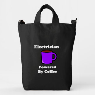 """""""Electrician"""" Powered by Coffee Duck Bag"""