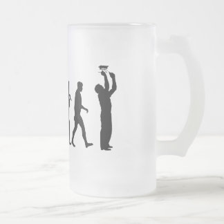 Electrician Sparky Licensed electricians gear Frosted Glass Beer Mug