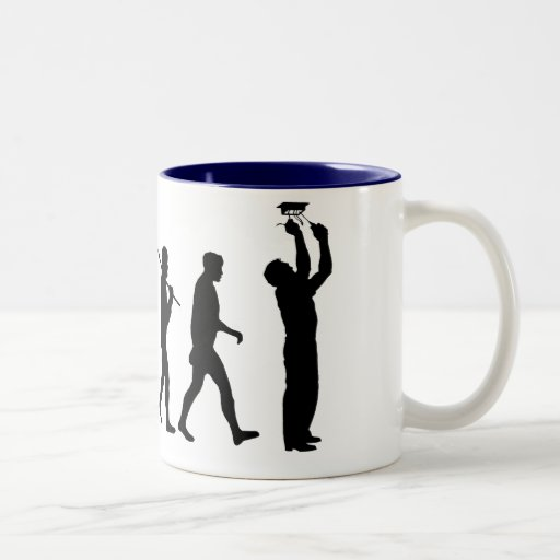 Electrician Sparky Licensed electricians gear Two-Tone Coffee Mug