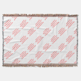 ELECTRICIAN THROW BLANKET