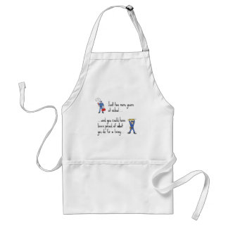 Electrician to Plumber apparels Adult Apron