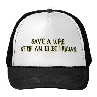 Electrician Trucker Hat