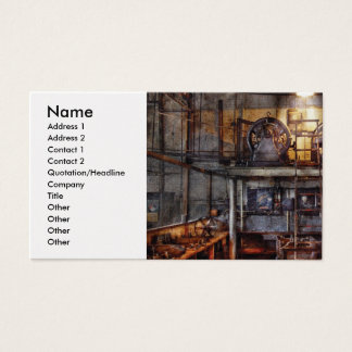 Electrician - Turbine Station Business Card