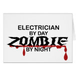 Electrician Zombie Card