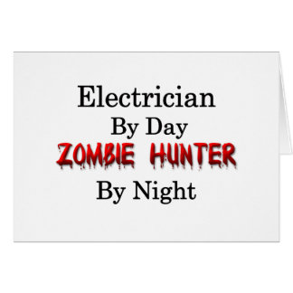 Electrician Zombie Hunter Cards