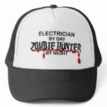 Electrician Zombie Hunter Trucker Hat
