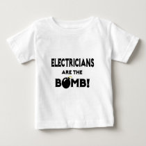 Electricians Are The Bomb! T Shirts
