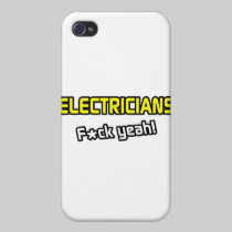 Electricians ... F-ck Yeah! iPhone 4/4S Cases