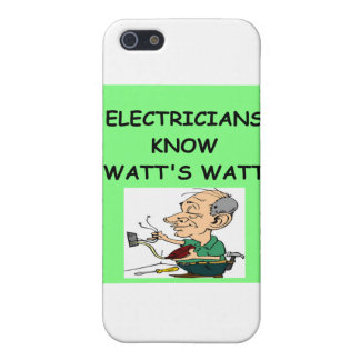 electricians iPhone 5 covers