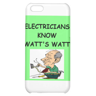 electricians iPhone 5C cover