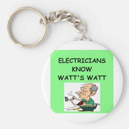 electricians keychains